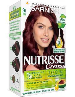 Garnier Nutrisse Creme Pflege-Haarfarbe 36 dunkle Kirsche (1 St.) - 4002441020063