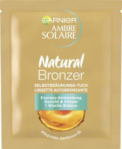 Garnier Ambre Solaire Natural Bräuner Selbstbräunungstuch