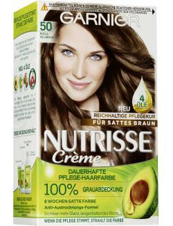 Garnier Nutrisse Creme Intensiv Coloration 50 mocca hellbraun