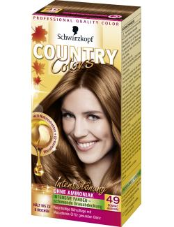 Schwarzkopf Country Colors Intensivtönung 49 cognac haselnuss (113 ml) - 4015000523646