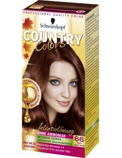 Schwarzkopf Country Colors Intensivtönung 66 peru nougat braun (113 ml) - 4015000523738