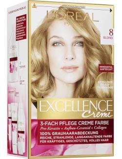 L'Oréal Excellence Creme 8 blond - 4037900174117