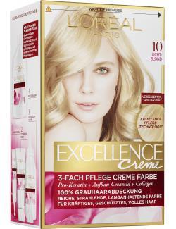 L'Oréal Excellence Creme 10 lichtblond - 4037900174353