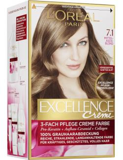 L'Oreal Excellence 7.1 Mittelaschblond