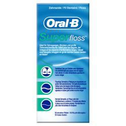 Oral-B Superfloss Gewachste Zahnseide