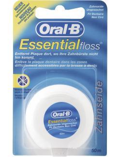 Oral-B Essential floss Zahnseide ungewachst
