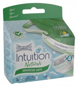 Wilkinson Sword Intuition Naturals Klingen sensitive care (3 St.) - 4027800007103