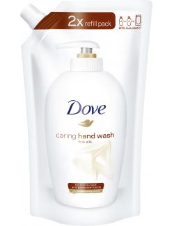 Dove Caring hand wash fine silk (500 ml) - 8717163573792