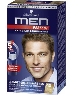 Schwarzkopf Men Perfect Anti-Grau Tönungs-Gel 40 natur dunkelblond (80 ml) - 4015000529136