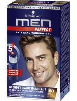 Schwarzkopf Men Perfect Anti-Grau Tönungs-Gel 50 natur hellbraun (80 ml) - 4015000529143