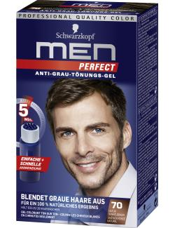 Schwarzkopf Men Perfect Anti-Grau Tönungs-Gel 70 natur dunkelbraun