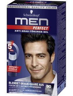 Schwarzkopf Men Perfect Anti-Grau Tönungs-Gel 90 natur schwarz (80 ml) - 4015000529181