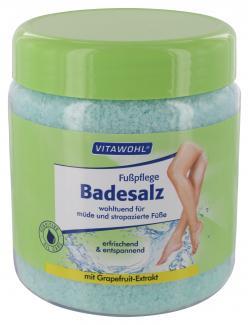 Vitawohl Fußpflege Badesalz