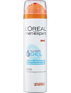 L'Oréal Men Expert Rasiergel Hydra sensitive Aloe Vera (200 ml) - 3600521605837