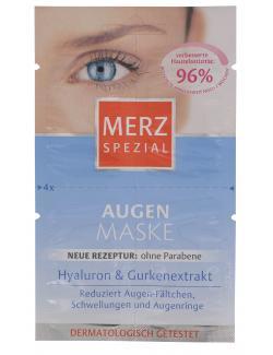 Merz Spezial Augenmaske (4 x 1 ml) - 4008491119597