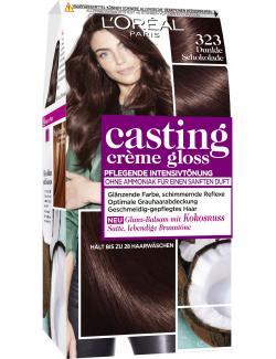 L'Oréal Casting Crème Gloss 323 dunkle Schokolade (160 ml) - 3600521365632