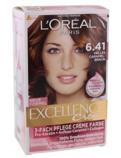 L'Oréal Excellence Creme 6.41 helles Caramelbraun (1 St.) - 3600521612194