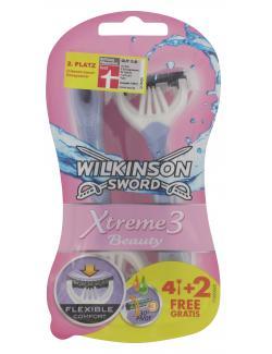 Wilkinson Sword Xtreme 3 Beauty Rasierer (4 St.) - 4027800410705