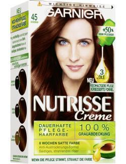 Garnier Nutrisse Creme Intensiv Coloration 45 schokobraun (1 St.) - 4002441020254