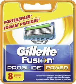 Gillette Fusion Pro Glide Power Klingen (8 St.) - 7702018010745