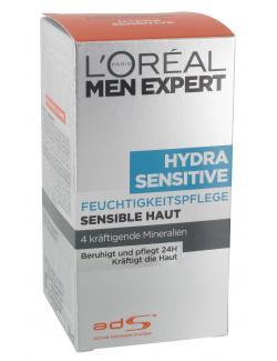 L'Oréal Men Expert Hydra Sensitive Feuchtigkeitspflege (50 ml) - 3600521602539