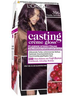 L'Oréal Casting Crème Gloss 316 dunkle Kirsche (160 ml) - 3600520982502