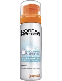 L'Oréal Men Expert Rasierschaum Hydra sensitive Aloe Vera (200 ml) - 3600521608654