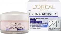 L'Oréal Hydra Active 3 Nachtpflege (50 ml) - 3600522020837
