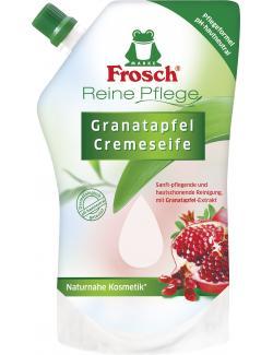 Frosch Reine Pflege Cremeseife Granatapfel