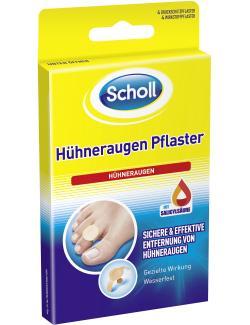 Scholl Hühneraugen Pflaster (4 St.) - 4006671031011