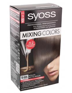 Syoss Mixing Colors 5-85 cappuccino-braun-Twist (135 ml) - 4015000943024