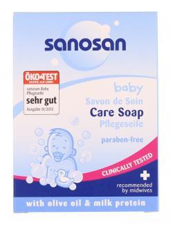 Sanosan Baby Pflegeseife (100 g) - 4003583063154