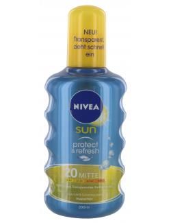 Nivea Sun Protect & Refresh Sonnenspray LSF 20 (200 ml) - 4005808283439