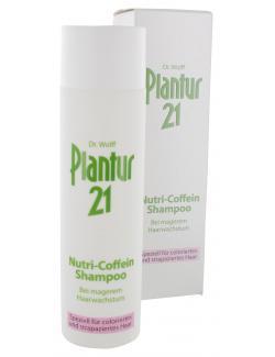 Dr. Wolff's Plantur 21 Nutri-Coffein Shampoo (250 ml) - 4008666710000