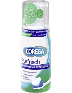 Corega Purfrisch Reinigungsschaum für Zahnersatz