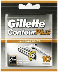 Gillette Contour Plus Klingen (10 St.) - 3014260207618