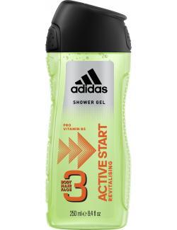 Adidas Active Start 3in1 Shower Gel + Shampoo + Face Wash (300 ml) - 3412247320013