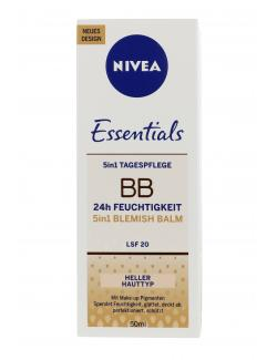 Nivea BB Cream 5-in-1 Blemish Balm hell (50 ml) - 4005808745241