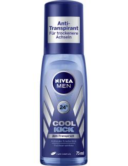 Nivea Men Cool Kick Deodorant Spray (75 ml) - 4005808726554