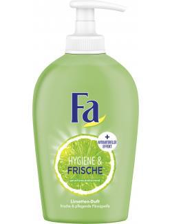 Fa Hygiene & Frische Flüssigseife Duft der Limette