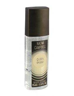 Naomi Campbell Queen of Gold Deodorant Spray (75 ml) - 737052697796