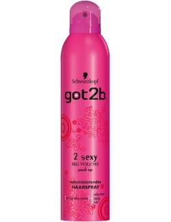 Schwarzkopf got2b 2 Sexy Big Volume Push Up Haarspray