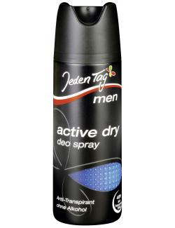 Jeden Tag Men Active dry Deo Spray (200 ml) - 4306180009236