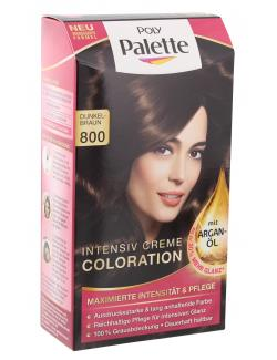 schwarzkopf poly palette coloration 800 dunkelbraun - Schwarzkopf Coloration