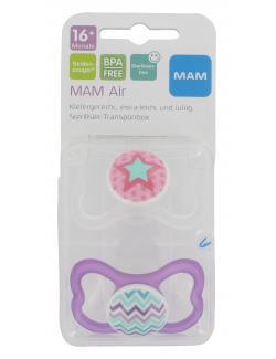 MAM Air Seidensauger Silikon 16+ Monate (2 St.) - 9001616662263