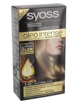 Syoss Oleo Intense Coloration 7-10 naturblond (115 ml) - 4015000999724