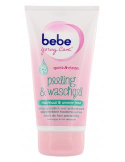 Bebe Young Care Quick & Clean Peeling und Waschgel (150 ml) - 3574660671735