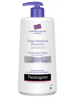 Neutrogena Deep Moisture Bodylotion sensitive (400 ml) - 3574660527490