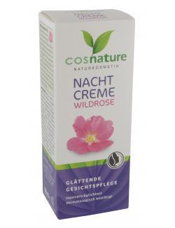 Cosnature Nachtcreme Wildrose (50 ml) - 4030409091015