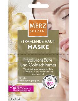 Merz Spezial Spa Deluxe Hautverschönernde Maske (2 x 5 ml) - 4008491119573